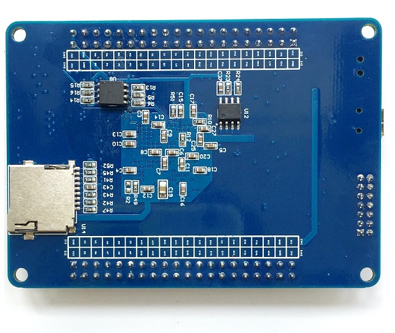 Xilinx XC6SLX16 FPGA development board with sdram