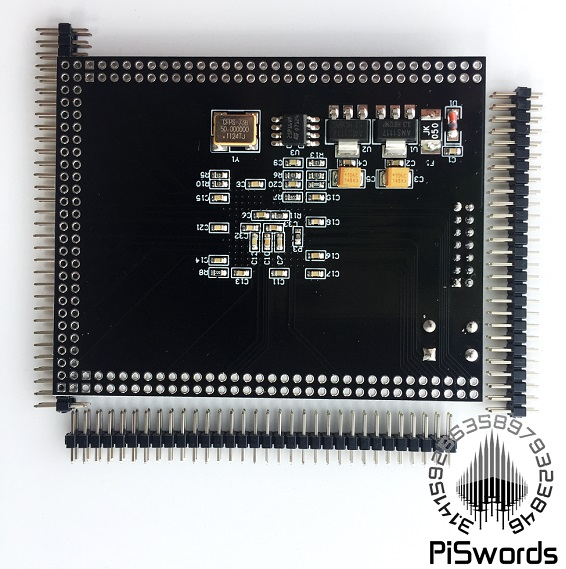 Xilinx XC6SLX25 FPGA development board with sdram