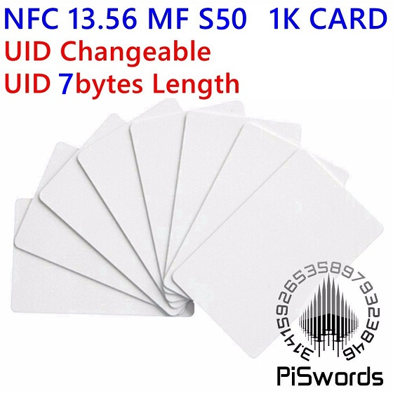 mf1 s50 uid 7byte changeable